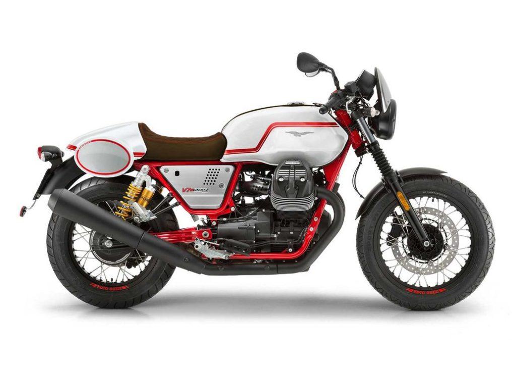 2020 Moto Guzzi V7III Racer Edición limitada