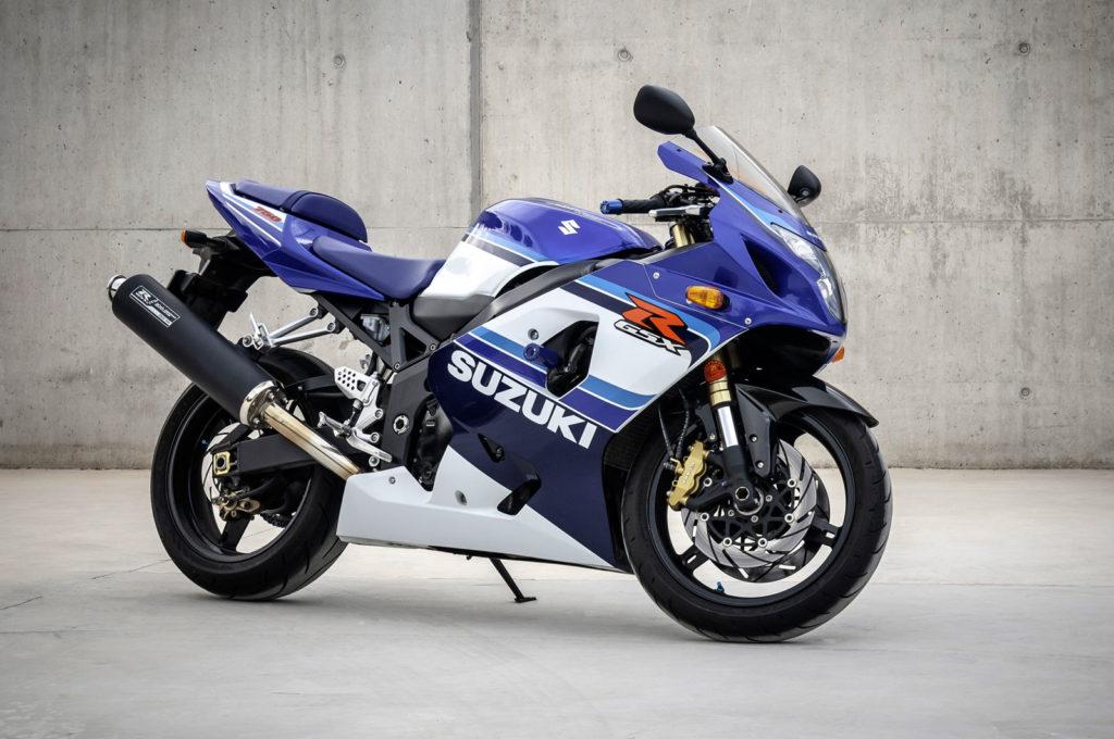 Suzuki GSXR750 20 Aniversario