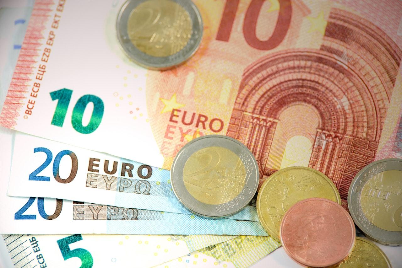 Billetes monedas de Euros